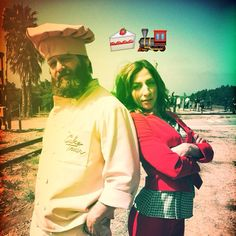 Chelsea Peretti & Zach Galifianakis on Kroll Show in Cake Train sketch