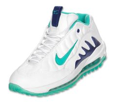 Nike Total Griffey Max '99 White New Green Deep Royal , where these joints at ?