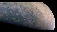Juno Spacecraft Images 'Cloud Swirls' on Planet Jupiter