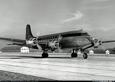 Northwest Airlines, DC-4