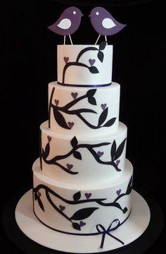 Birdie Wedding Cake
