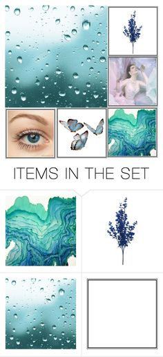 """""""blue"""" by kat945 on Polyvore featuring картины"""
