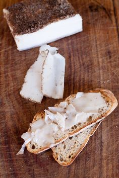 lardo di colonnata and crostino