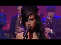 "Amy Winehouse (HD)  ""Rehab"" Live on David Letterman - I like this better than the video version :)"