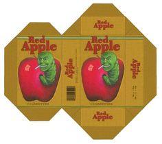 Red Apple Cigarettes - Design by Apfeistrudel.deviantart.com on @deviantART