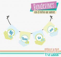 Comprá online Bautismo Varón - Banderín con elefante para imprimir por $45,00. Hacé tu pedido y pagalo online.