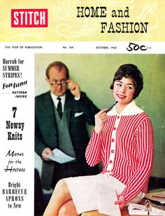 Stitch Vol. 15 No. 1, October 1962