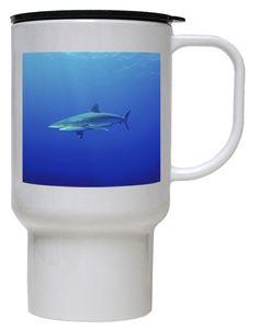 Shark Polymer Plastic Travel Mug