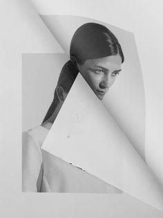 New post on freshtvke Photography Illustration, Fashion Collage, People Photography, Dark Art, Graphic Illustration, Illustrations, Black And White Photography, Art Direction, Graphic Design