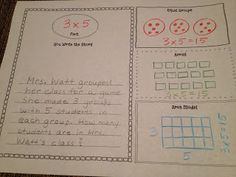 Classroom Freebies: Representing Multiplication