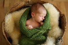 Simple knit cocoon.
