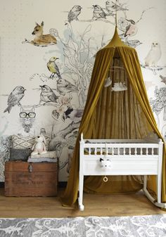 Ein Stadthaus mit schickem Ethno-Stil – FrenchyFancy - Babyzimmer ideen A town house with chic ethnic style FrenchyFancy A town house with chic ethnic style FrenchyFancy # nursery # furniture ideas # Baby Room Boy, Baby Bedroom, Nursery Room, Girls Bedroom, Nursery Decor, Nursery Design, Bedrooms, Whimsical Nursery, Bird Nursery Themes
