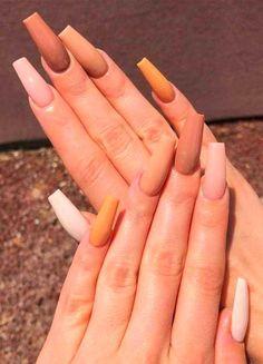 Nails 39 Trendy Fall Nails Art Designs Ideas To Look Autumnal & Charming - autumn nail art ideas , nails Shades Of Burgundy, Burgundy Hair, Living Room Ideas 2020, Fall Nail Art Designs, Autumn Nails, Fall Nail Colors, Kardashian Style, Eyeshadow Looks, Christmas Nails