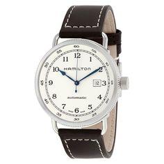 Hamilton Khaki Navy Pioneer Automatic Silver Dial Men's Watch H77715553