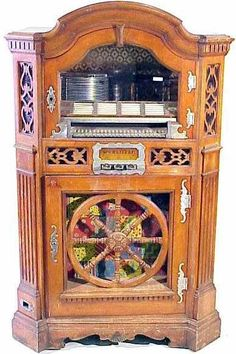 Buy online, view images and see past prices for Rudolph Wurlitzer Co. Model 780 was the only Wurlitzer juke box in a maple wooden cabinet which looked like a piece of furniture. The lower case features a wooden