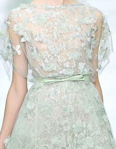 Wedding Ideas: light-mint-fairy-gown