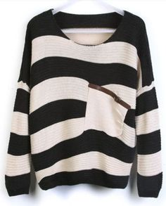 Big Striped Sweater