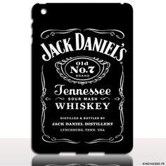 Coque ipad Air 2 Jack Daniels - Housse de protection rigide. #jack #daniels #ipad #coque