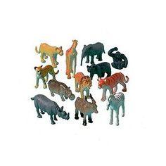 Sauvage chiffres Jungle des animaux jouets, paquet de 12 assorties: Amazon.fr: Cuisine & Maison  3,80€/12