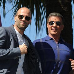 Jason Statham and Sylvester Stallone