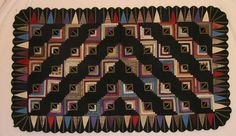 The Quilt Index....Log Cabin 1880's  this is to die for....