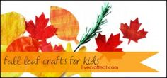 fall leaft crafts for kids