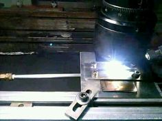 Laser welding of tantalum. First works of my Master's Degree.