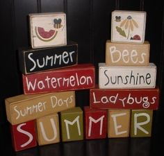 Primitive Summer Sayings
