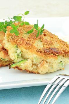 "Connie's #Vegetarian Zucchini ""Crab"" Cakes #Recipe"