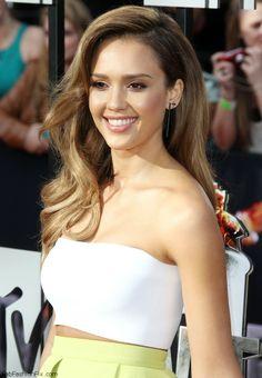 Jessica Alba at 2014 MTV Movie Awards
