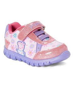 Esquire Footwear Peppa Pig Pink & Purple Light-Up Running Shoe | zulily