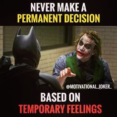 Never make a............ For more Motivational and Realistic Quotes Follow @motivational_joker_ Follow @motivational_joker_ Follow @motivational_joker_ ____________________________________________________________________________________________ Turn on PAGE NOTIFICATION ____________________________________________________________________________________________ #Joker #HeathLedger #thejoker #thedarkknight #whysoserious #batman #comics #gotham #gothamcity #villain #dccomics #supervil