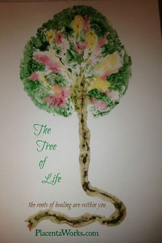 The 'Tree of Life' placenta print.