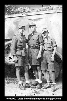 German soldiers in Africa. One of them is just a boy!
