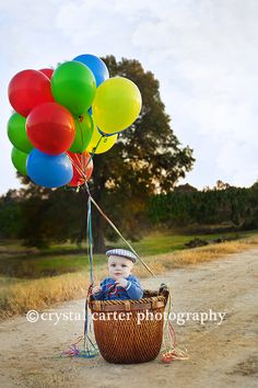Hot air Ballon Portrait. Thank you CrystalCarterPhotography.com  for making this happen..