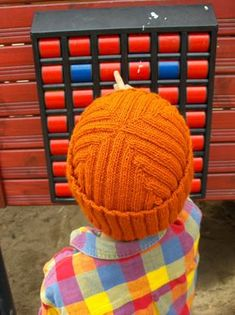 Ravelry: Käänteinen - Reversible Rib Cap pattern by Pirita Hiltunen Knitting For Charity, Knitting For Kids, Free Knitting, Knitting Projects, Mens Hat Knitting Pattern, Baby Knitting Patterns, Knitted Headband, Knitted Hats, Lace Patterns