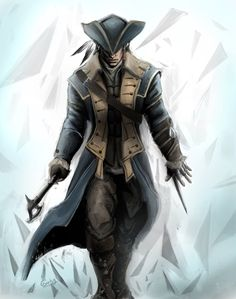 Captain connor kenway by chimicalstar.deviantart.com on @deviantART