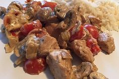 Low Carb: Herb tomato pan with juicy poultry meat from MultikochDE Duck Recipes, Paleo Recipes, Chicken Recipes, Nom Nom Paleo, Paleo Breakfast, Cherry Tomatoes, Paleo Diet, Food Videos, Seafood