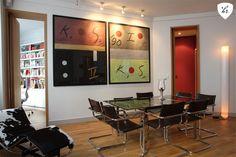 Decoracion de dormitorio comedor estilo eclectico - Mesas con estilo ...