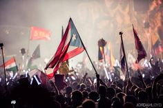 Tomorrowland Flags #PuertoricanFlag