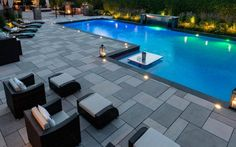 If you are working with the best backyard pool landscaping ideas there are lot of choices. You need to look into your budget for backyard landscaping ideas Pool Pavers, Backyard Pool Landscaping, Backyard Pool Designs, Swimming Pools Backyard, Swimming Pool Designs, Pool Decks, Patio Design, Luxury Swimming Pools, Luxury Pools
