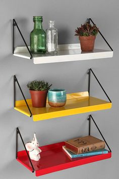 Urban Outfitters Modern Wall Shelf, $22, available at Urban Outfitters.