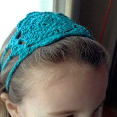 crochet headband!
