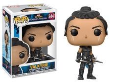 From Thor Ragnarok, Valkyrie (scavenger suit), as a stylized pop vinyl from Funko! figure stands 3 inches and comes in a window display box. Check out the other Thor Ragnarok figures from Funko! Funko Pop Marvel, Marvel Pop Vinyl, Lego Marvel, Captain Marvel, Collection Marvel, Pop Collection, Funko Pop Dolls, Figurines Funko Pop, Pop Figurine