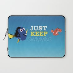 just keep swimming with nemo and dory