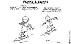 Back to the Future dag - Fokke & Sukke