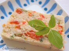terrine de poisson aux poivrons et basilic ©cocineraloca.fr