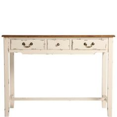 CABOTT COVE Console table with 3 drawers 108 x 43 x 79.5 cm - Furniture