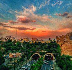 Iran _Tehran _Resalat Tunnel Tehran Iran, Travel, Viajes, Destinations, Traveling, Trips
