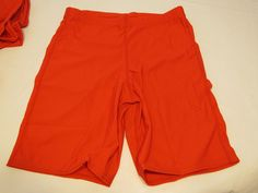 Game Gear NS111 compression shorts sliding 1 pair athletic sports S red NOS NWT #GameGear